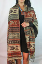 #5000 Shawl Wrap Quality Soft Premium Wool Throw Blanket Lap Travel Artisan Made