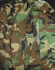 Lot of 2 Woodland Camo Med-Regular Jackets NEW WITH TAGS