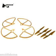 HUBSAN H501S-01 hélice Paquete con Prop protectores para H501S h501c x4 DRON
