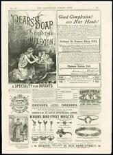1887 - ADVERTISING PEARS SOAP BENSON BOND STREET NOVELTIES THURSTON CUE (33)
