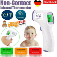 LCD Digital Infrared Thermometer Non-contact Temperature Ear Forehead USA HOT