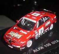 BUSCH RICKO 38840 MINIATURE ALFA ROMEO 156 GTA 2003 #3 LARINI CAR RACING 1:87 HO