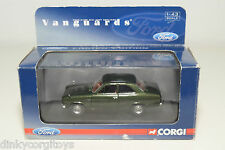 . VANGUARDS CORGI VA 09504 FORD ESCORT MKI EVERGREEN METALLIC MINT BOXED RARE!