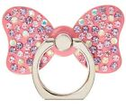 NIP Claire's Pink Stone Studded Bow Ring Stand