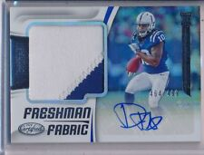 DAURICE FOUNTAIN - 2018 Certified Freshman Fabric 2 Color Patch AUTO /499 Colts