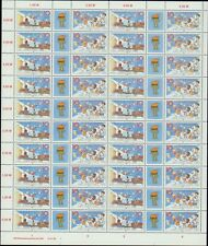 DDR Nr. 3181/82 postfrisch im Zusammendruckbogen, Bogen, DV, Zdr-Bogen