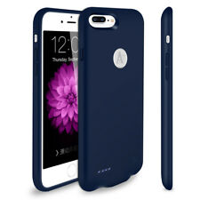"""TQTHL Portable spare Charger For iPhone 7Plus 5.5"""" Blue Battery Cases Power Bank"""