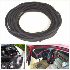 6M O Shaped Filler Strip Car Door Weatherstrip Rubber Edge Seal Strip Waterproof