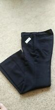 Women's Old Navy Slim Flare Harper Full Length Pants, 4P, black, NWT