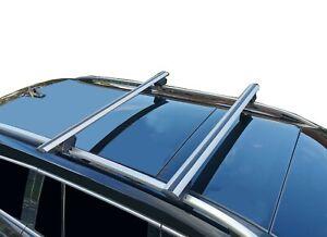 Alloy Roof Rack Cross Bar for VW Touareg 11-18 Lockable 135cm