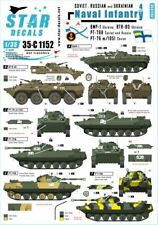 Star Decals 1/35 Naval Infantry # 4. Soviet and Russian PT-76 # 35-C1152