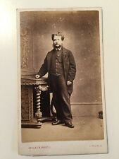 Victorian Carte De Visite CDV Photo - Walker - Lincoln - Gentleman