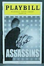 Assassins Hand Signed Autographed Playbill
