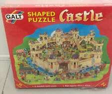 Galt Castle Shaped Jigsaw Puzzle Vintage New Sealed 80 Pieces - Age 6+