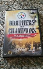 Brothers and Champions (DVD) The Steelers 2008 Championship in Review.