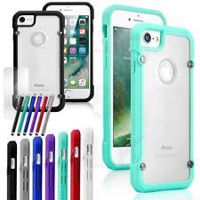 per iPhone Apple 7 Plus Custodia In Silicone Cover Trasparente Paraurti Gomma