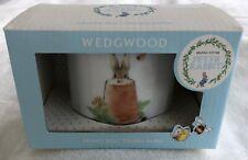 Wedgwood ~ Beatrix Potter Peter Rabbit ~ Boys Money Box ~ New In Box Nib