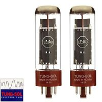 Brand New Tung-Sol Reissue EL34B Plate Current Matched Pair (2) Vacuum Tubes