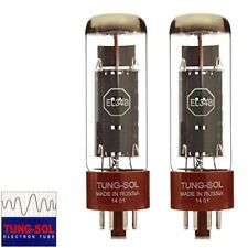 Brand New Tung-Sol Reissue EL34B Plate Vacuum Tubes - Matched Pair