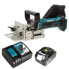 Makita DPJ180Z 18V LXT Cordless Biscuit Jointer With 1 x 3Ah Battery & Charger