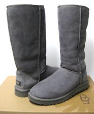 UGG CLASSIC TALL WOMEN BOOTS SUEDE GREY US 7 /UK 5.5 /EU 38 /JP 24