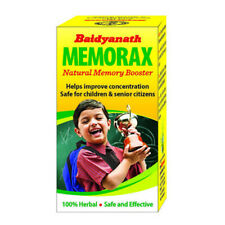 Pack Of 2  Ayurveda Baidyanath Memorax 50 Tablets Free Shipping