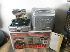 COLEMAN STOVE 508A700C GREEN   DATED 12 - 93  NO RESERVE