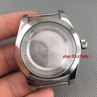40mm Sapphire Glass Steel Watch Case fit ETA 2836,DG2813/3804,Miyota 8215 P707