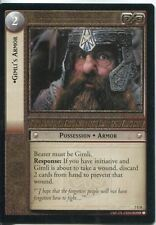 Lord Of The Rings CCG Card RotK 7.U8 Gimli's Armor