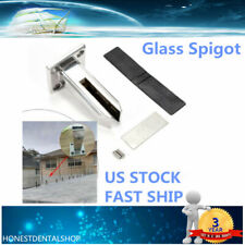 Floor Standing Stairs Balcony Pool Glass Spigots Post Balustrade Railing Clamp
