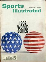 SI: Sports Illustrated October 1, 1962 World Series G