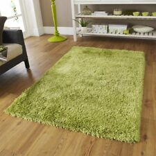 Abaseen ® Tappeti Shaggy Verde Large Soft Thick Tappeto Pavimento Tappeto 120 x 170 cm Tinta unita