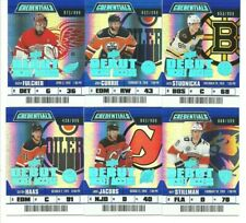 2019-20 Upper Deck Credentials 12 card RC lot!!  Cards #/699 and #/999!!