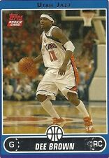 2006-07 Topps Dee Brown Rookie Card