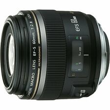 Canon EF-S60mm F2.8 Macro USM Lens 60 f2.8 For EOS NEW from Japan