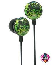 NEW OFFICIAL MARVEL COMICS AVENGERS HULK IN EAR HEADPHONES IPHONE IPOD