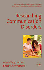 Recherche de communication disorders (research and practice in applied linguisti