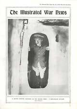1916 officiers britanniques les quartiers Balkan Front Mud-paroi Cottage