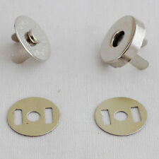 10 Sets Magnetic Snap Button Bag Clothing Clasp - 18mm