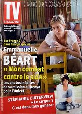Mag 2006: EMMANUELLE BEART_STEPHANIE DE MONACO_MANU KATCHE_BERNARD FARCY_NAGUI