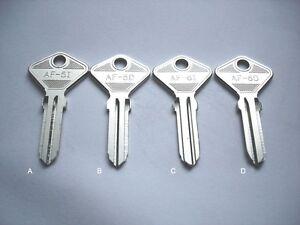 2 Uncut Blank door key Ferrari 208 328 308 365 DINO BB 246, BB 512 GTO 412 400gt