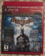 Play Station 3 PS3 Batman Arkham Asylum Game of the Year Edition (Brand new)