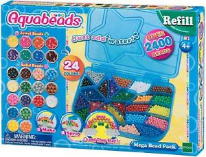AQUABEADS Mega Bead Pack 2400 beads Mania - NEW - UK Stock FAST DISPATCH