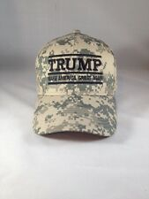 Make America Great Again Donald Trump Hat Digital Camo Tan Cap Structured MAGA