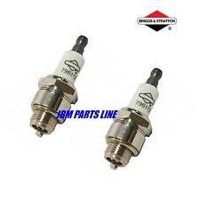 Briggs & Stratton Spark Plug 796112, RJ19LM, Craftsman Mower 802592S, 2 PLUGS