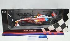 1:18 Scale Williams FW21  #6 R.Schumacher 1999 F1 Minichamps Diecast Race Car