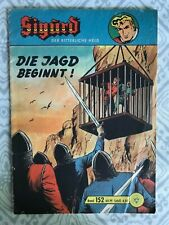 """1960's German Comic Book """"Sigurd"""" """"Die Jagd Beginnt"""""""