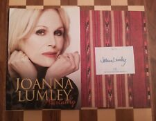 Absolutely Autobiography SIGNED Joanna Lumley HB 2011 1st edition 3rd impression