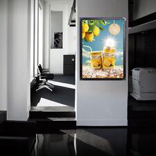 SMD LED lights Acrylic Poster Light Box Frame Illuminated Display Advertising