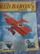 HACHETTE BUILD THE RED BARON'S FIGHTER PLANE FOKKER DR1 # 30 NEW SEALED